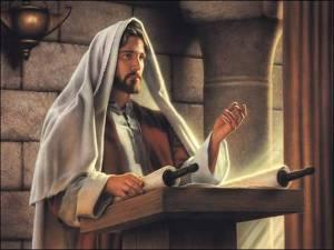 Isus in sinagoga