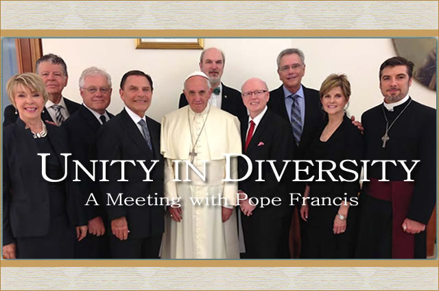 Unity-In-Diversity-June-2014-meeting-with-Pope-Francis