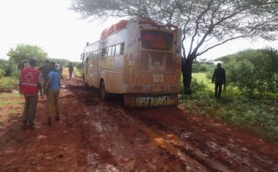 Autobuzul atacat de islamişti în Kenia