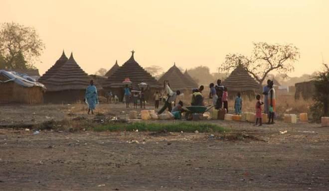 Imaginea unei localităţi din Kenya (foto Open Doors)