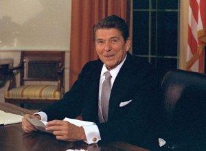 Preşedintele Ronald Reagan