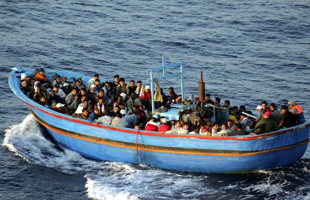 Italian Border Patrols Pick Up Boatloads Of Illegal Immigrants